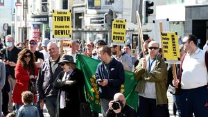 City centre protest in Cork over May Bank Holiday weekend