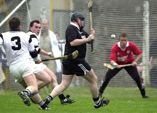 Paudie O'Brien in action for Midleton against Ballyhea. Picture: Maurice O'Mahony
