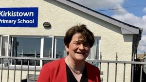 Politics is a very brutal game, says Arlene Foster