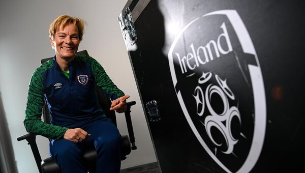 Republic of Ireland Women's national team manager Vera Pauw. Picture: Stephen McCarthy/Sportsfile