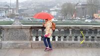 Umbrellas at the ready: Dry weather in Cork not expected to last