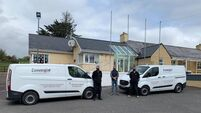 Cork company donate  security system to school