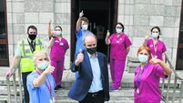 Taoiseach: Vaccinations will progress 'very quickly' in May and June