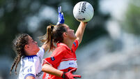 Cork v Monaghan - All-Ireland Ladies Football Minor A Championship Final