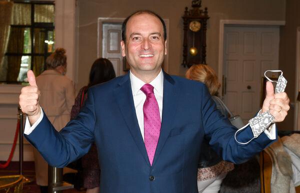 Michael Magner, propriétaire du Vienna Woods Hotel à Glanmire Cork.  Photo : David Keane.